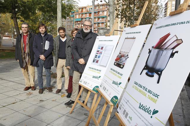 En marxa la campanya «Cada cosa al seu lloc», per implicar la ciutadania en la millora de la recollida selectiva a Lleida