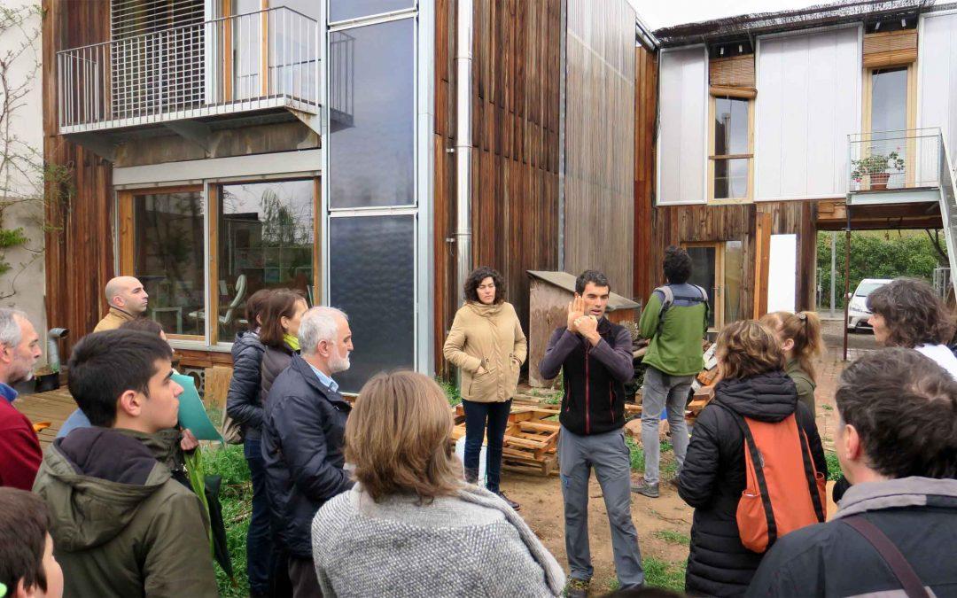 Excel·lent resposta de públic a les visites guiades a la casa sostenible i al Museu del Clima
