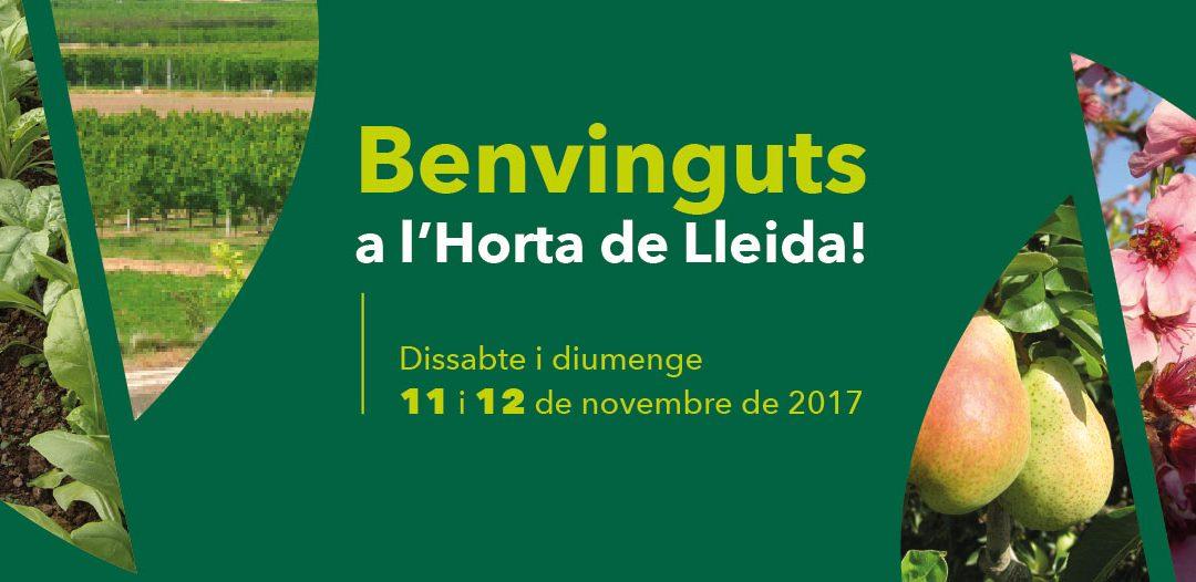 Benvinguts a l'Horta de Lleida 2017