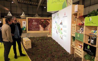 Promoció de la marca Horta de Lleida dins de Fira Natura